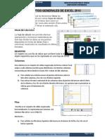 Conceptos Generales de Excel