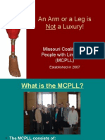 An Arm or a Leg is Not a Luxury!