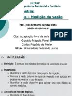 Calculos de Hidrometria