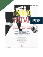 Regulamento Torneio de Futsal da JS - Vila do Conde | 2016
