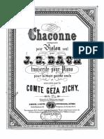 Bach-Zichy - Ciaccona