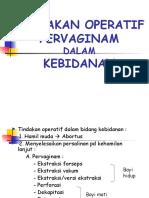 Tindakan EF & EV