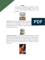 Filosofos y Matematicos