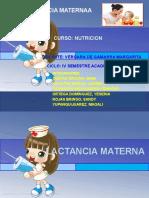 Alimentacion Complementaria-lactancia materna