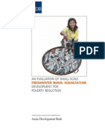 An Evaluation of Small-Scale Freshwater Rural Aquaculture Development for Poverty Reduction