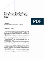 Judo Biomechanical Classifications