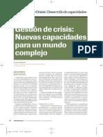 Gestion de crisis