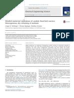 Simulaciones Numericas Detalladas de Reactores de Lechofijo Catalitico