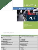 teaming manual 2013 2014