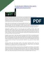 Nelayan Teluk Manado Tergulung Arus Modernisasi Pembangunan Kota