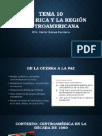 Tema 10. Costa Rica y La Región Centroamericana