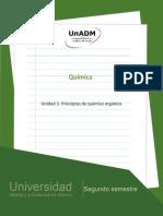 Unidad 3. Principios de Quimica Organica