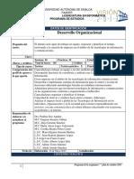 Desarrollo Organizacional Final