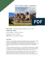 Museo Del Convento de Santo Domingo INFORME Reput