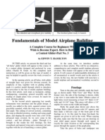 Fundamentals of Model Airplane Building Part 3