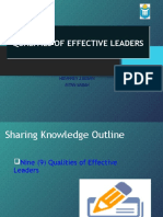 [5] Lecture - Qualities of Effective Leaders
