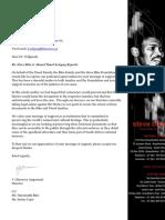 Letter to Dr. Helene Vollgraaff.