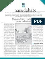 Nuevas Elites Economicas Bolivia