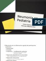 Neumonía en Pediatría 2014