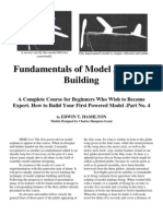 Fundamentals of Model Airplane Building Part 4