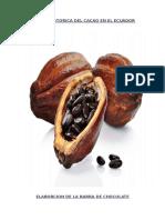 Resena Historica Del Cacao en El Ecuador