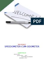 Speedo Meter Cum Odo Meter Presentation1