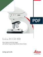Brochure Leica ICC50HD