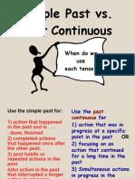 Simple vs Past Continuous
