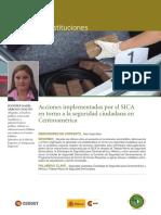 Acciones Implementadas Por El SICA en Torno a La Seguridad Ciudadana en Centroamérica