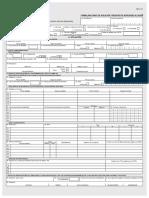 Formulario Unico Inscripcion y Novedades Cafesalud