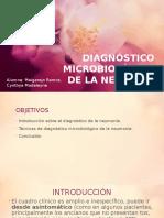 Diagnóstico Microbiológico de La Neumonía