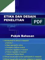 Etika Dan Desain Penelitian_kuliah