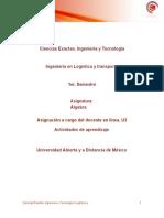 Asignacion U3 Algebra