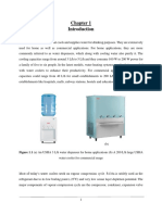 Refrigeration in water coolers