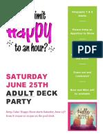 adult deck party 62516