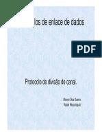Protocolos de Enlace de Dados