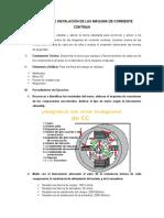 Estructura e Instalaciómaqn de Las Máquina de Corriente Contínua