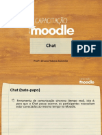 Capacitacao Moodle Chat