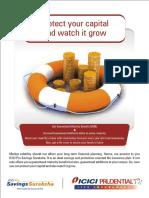 IPru Saving Suraksha Leaflet