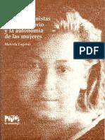 Claves Feministas.para El Poderio y Autonomia. Marcela Lagarde