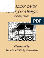 (a Child's Own Book of Verse Volume Book 1)Ada M. Skinner, Frances Gillespy Wickes-A Child's Own Book of Verse, Book One-Yesterday's Classics(2006)