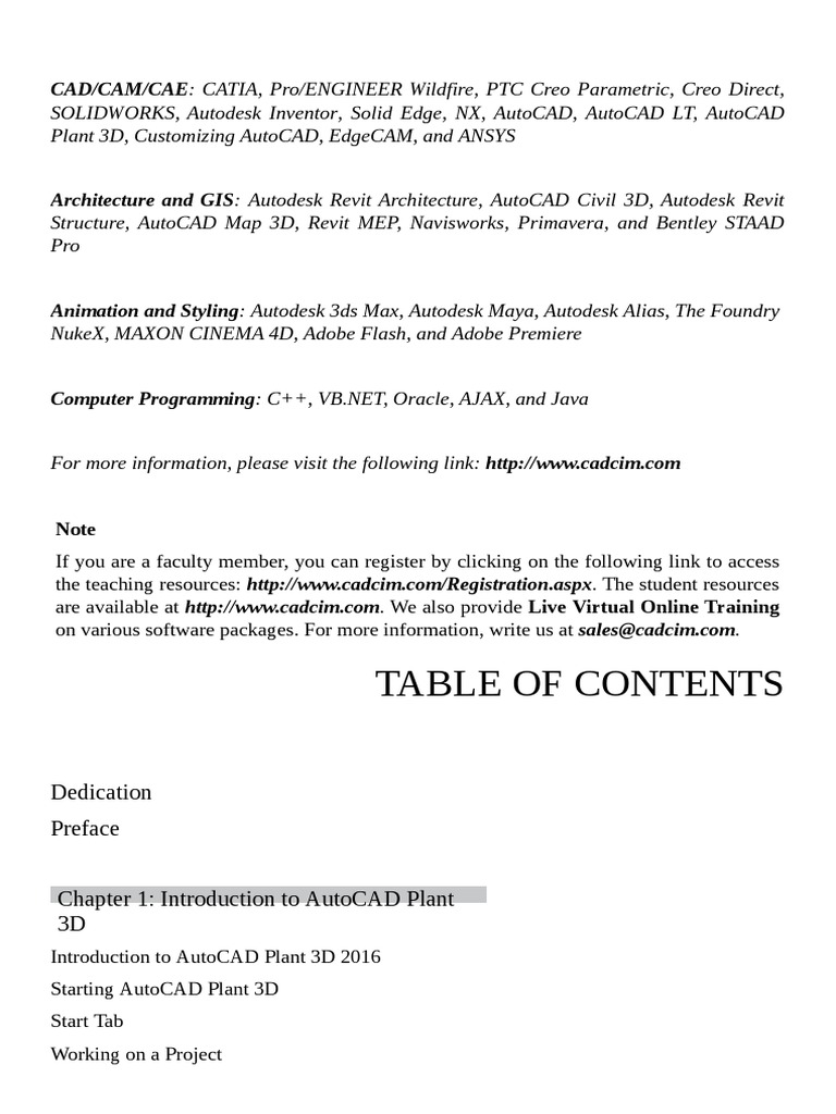 Java 3d tutorial pdf choice image any tutorial examples plant 3d tutorial pdf auto cad autodesk baditri choice image baditri Gallery
