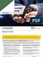 STUDIU - Tendinte Si Realitati CSR in Romania - EY_Romania & CSRmedia.ro_rO