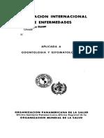 Clasificacion Internacional de La Enfermedad