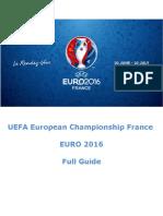 PDF Guide - Euro 2016