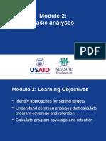 Data Analysis Basic Analysis