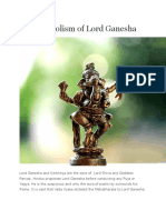 The Symbolism of Lord Ganesha