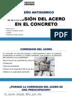 Corrosion Del Acero en El Concreto