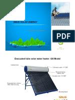 GS Model Solar Water Heater Catalogue