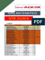 Rally Juliaca 2016